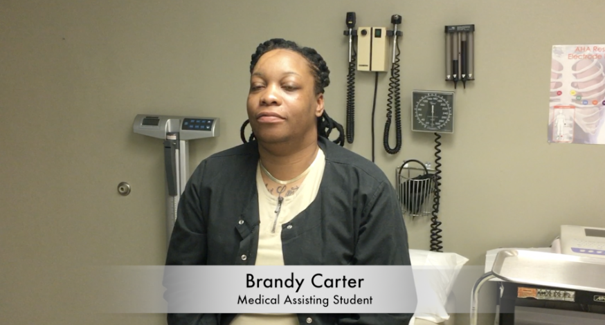 Love Your Career: Video Interview with Medical Assisting Student Brandy Carter