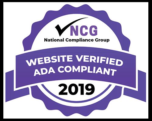 Website Verified ADA Compliant